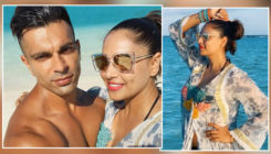 Bipasha Basu flaunts her hot bod during her beach vacay with Karan Singh Grover