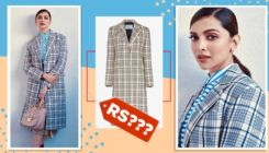 WOW! Deepika Padukone shells out school girl vibes in a chequered trench coat worth the price of your US flight tickets