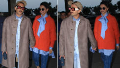 Airport Diaries: Deepika Padukone is all smiles as she jets off with Ranveer Singh to celebrate her birthday
