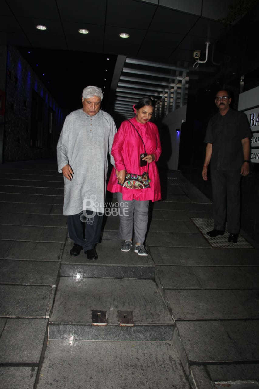 Javed Akhtar and Shabana