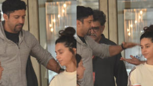 In Pics: Farhan Akhtar and Shibani Dandekar visit Shabana Azmi at the hospital