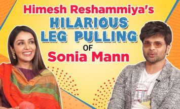 Himesh Reshammiya's hilarious leg pulling of Sonia Mann will make you go ROFL