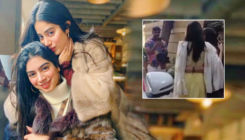 Khushi and Janhvi Kapoor's sweet gesture towards paparazzi who followed them to the lift - watch video