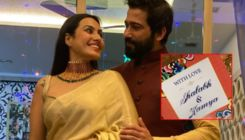 Kamya Panjabi shares the first glimpse of her wedding card-watch video