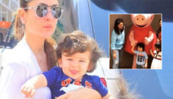 Taimur Ali Khan can't control his excitement as he meets Peppa Pig with mom Kareena-watch video