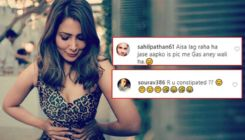 Kim Sharma trolled mercilessly for her weird pose; netizens ask,