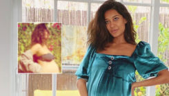 Lisa Haydon is ready to deliver 'any day now'; flaunts baby bump in a bikini