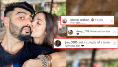 Malaika Arora-Arjun Kapoor trolled yet again with 'mother-son' jibes for their kissing picture