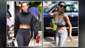Malaika Arora gives us major fitness goals as she shows off her abs with panache - view pics