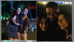Mona Singh stuns in a little black dress post wedding; parties hard with hubby and friends