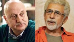 Anupam Kher gives a befitting reply to Naseeruddin Shah for calling him a 'sycophant'