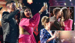 Priyanka Chopra and Nick Jonas raise a toast to New Year with onstage kiss-watch video