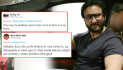 Saif Ali Khan trolled yet again and this time for saying 'Andheri is not Mumbai'