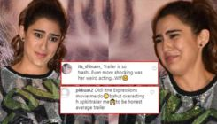 Sara Ali Khan's facial expressions at 'Love Aaj Kal' trailer launch mercilessly slammed; Trolls say,