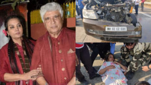 Shabana Azmi Car Accident: FIR lodged against the car driver for rash driving