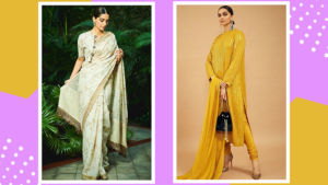 Deepika Padukone to Sonam Kapoor - Here's when B-Townies slayed in a Sabyasachi outfit