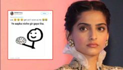 Netizens slam Sonam Kapoor for doing 'The Zoya Factor' after she urges people to not vote conservatives