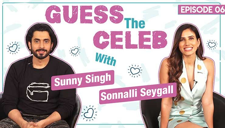 Sunny Singh and Sonnalli Seygall's crazy antics in Guess The Celeb