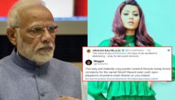 Urvashi Rautela called out for copying PM Narendra Modi's tweet on Shabana Azmi's car accident
