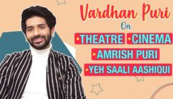 Vardhan Puri's confession on theatre, cinema, granddad Amrish Puri and debut 'Yeh Saali Aashiqui'