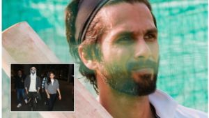 Shahid Kapoor Jersey face mask