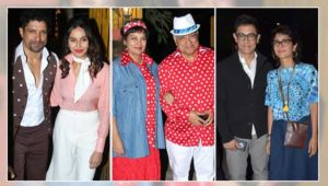 Who's who of B-Town attend Javed Akhtar's retro-themed birthday bash