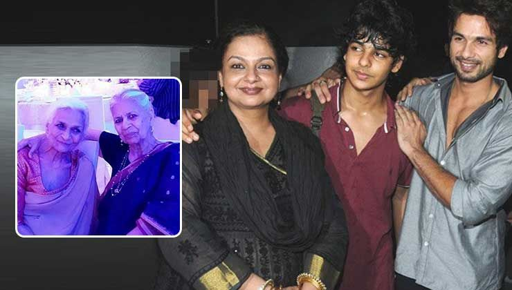 Shahid Kapoor and Ishaan Khatter's maternal grandmother passes away