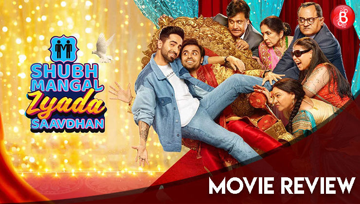 'Shubh Mangal Zyada Saavdhan' Movie review: The Ayushmann Khurrana-Jitendra Kumar starrer will crack you up yet manage to show the struggle of homosexuals