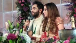 Armaan Jain & Anissa Malhotra's first speech after the wedding is all things love - watch video