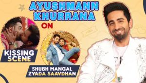 Ayushmann Khurrana's hilarious take on kissing Jitendra Kumar in 'Shubh Mangal Zyada Saavdhan'