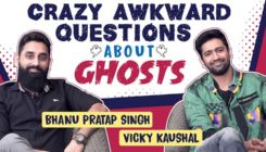 Vicky Kaushal and Bhanu Pratap Singh's EPIC reactions to crazy awkward questions on ghosts