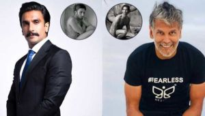 Ranveer Singh to Milind Soman-Bollywood actors who broke the internet with their almost NUDE pictures