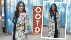 Hina Khan shows you how to make a style statement on a freezing chilly day