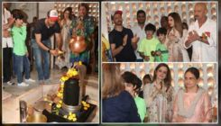 Mahashivratri 2020: Hrithik Roshan along with Sussanne Khan, sons Hrehaan, Hridaan and family seek blessings
