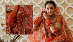 Newlywed Kamya Panjabi shares glimpses of her customized bridal lehenga-view pics