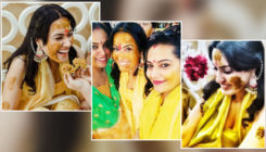 Would-be bride Kamya Panjabi glows in yellow at her haldi ceremony-view pics