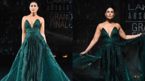 Lakme Fashion Week 2020: Kareena Kapoor Khan channels her inner princess at the grand finale