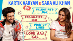 Kartik Aaryan-Sara Ali Khan on Valentine's Day, weird pick-up lines & 'Love Aaj Kal'
