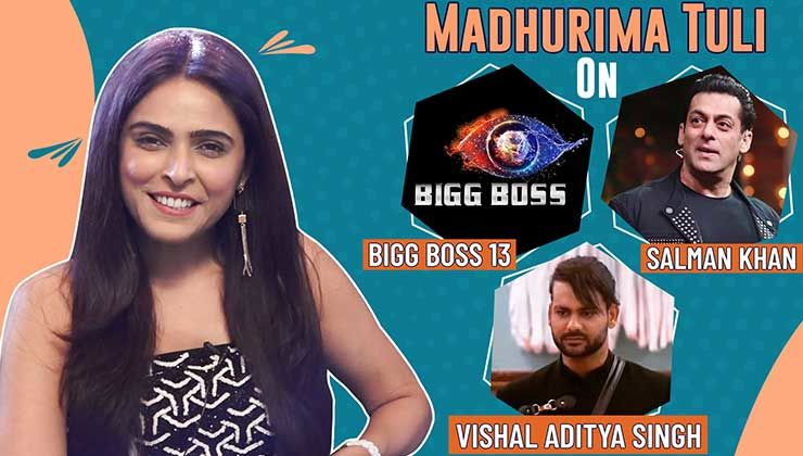 Madhurima Tuli's strong stand on 'Bigg Boss', Salman Khan and Ex-Vishal Aditya Singh