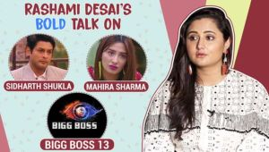 Rashami Desai's BOLD confessions on Sidharth Shukla, Mahira Sharma and Salman Khan's 'Bigg Boss 13'