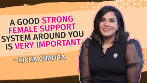 Richa Chadha's quirky yet honest take on female bonding in Panga