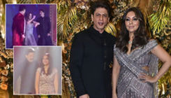 Armaan Jain's reception: Shah Rukh Khan, Gauri Khan & Karan Johar set the stage on fire with their dance on 'Kajra Re' - watch