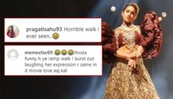 Sara Ali Khan brutally trolled for her ramp walk at Lakme Fashion Week; netizens call it 'terrible' and 'horrible'