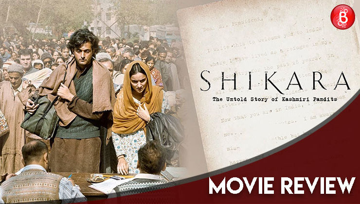 'Shikara' Movie Review: This Vidhu Vinod Chopra directorial fails to leave an impact