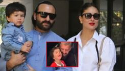 Taimur turns assistant to Kareena Kapoor and Saif Ali Khan - watch video