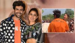 Kartik Aaryan leaves Sara Ali Khan stunned after he lifts her on stage mid-performance  - watch video
