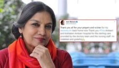 Shabana Azmi is finally back home; Thanks well wishers for their prayers