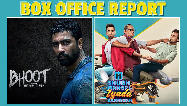 Box-office Report: Ayushmann Khurrana's 'Shubh Mangal Zyada Saavdhan' outshines Vicky Kaushal's 'Bhoot' on day 2