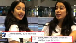 Janhvi Kapoor trolled for singing 'Bholi Si Surat' song; Netizen says,