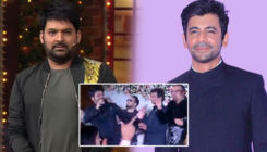 Kapil Sharma and Sunil Grover dance their hearts out - watch video